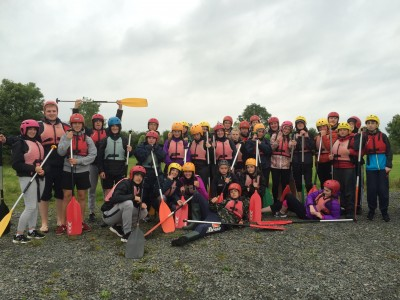 Transition Year Camping Trip