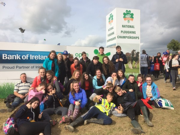 Transition Year Students at the Ploughing