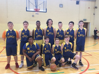 Second Year Basketball Team