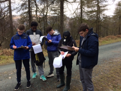 Third Year Science Ecology trip