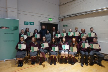 Transition Year Book Launch-'What's the Stories'