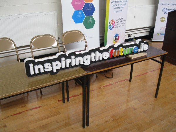 T.Y students take part in Inspiring the Future Ireland Event