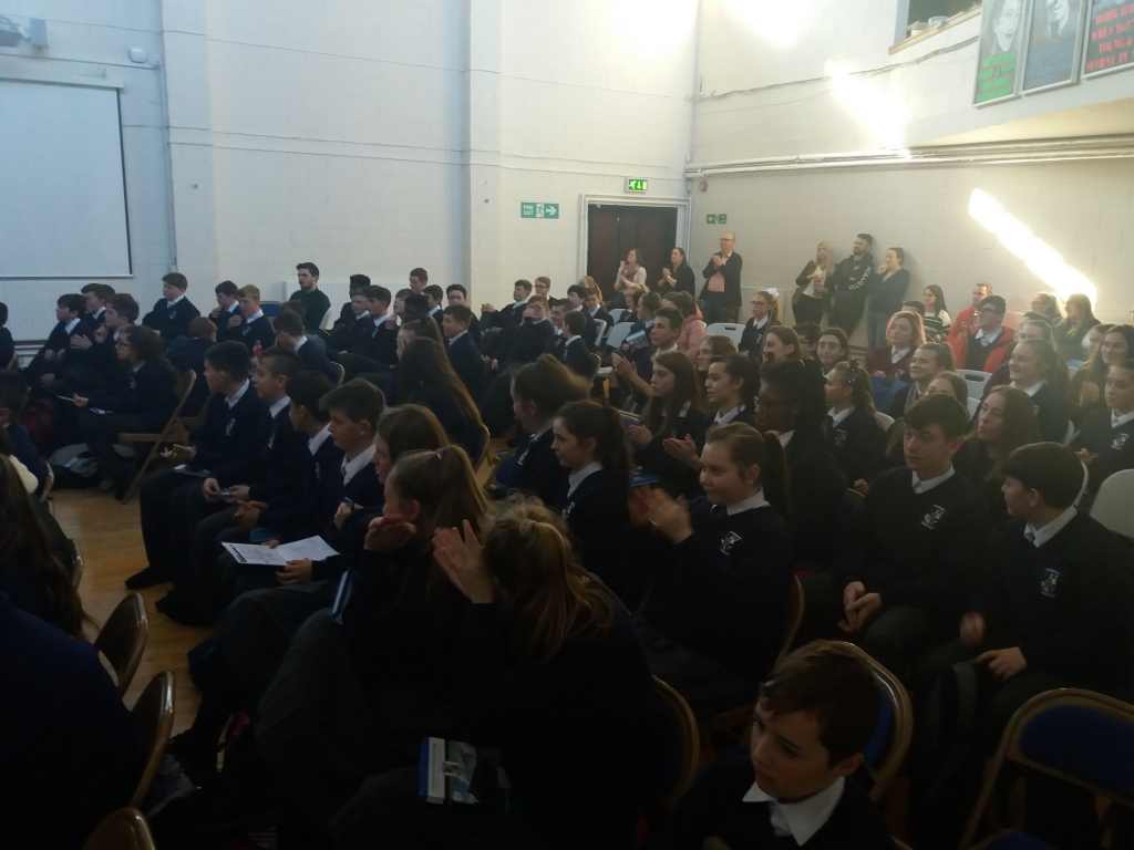 The audience of first and second years