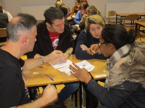 Adult Education Students Table Quiz