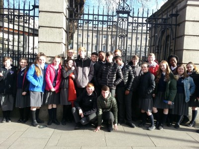 Third Year Trip to the Dáil