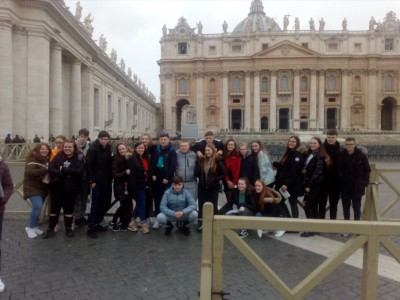 Transition Year trip to Rome and Pompeii