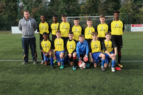U15 Football Team Lose Away to Confey College.