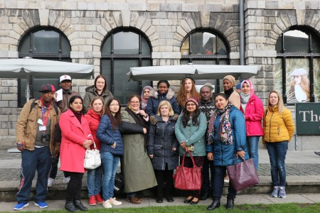 Further Ed students visit Trinity College