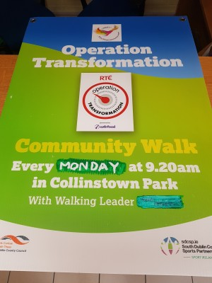 Collinstown Park CC Does Operation Transformation
