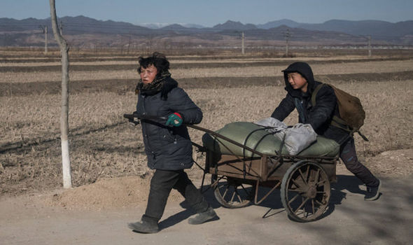 The poverty that exists in Northe Korea has largely gone unreported.