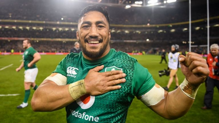 Bundee Aki has become a stalwart for the Irish Rugby Team
