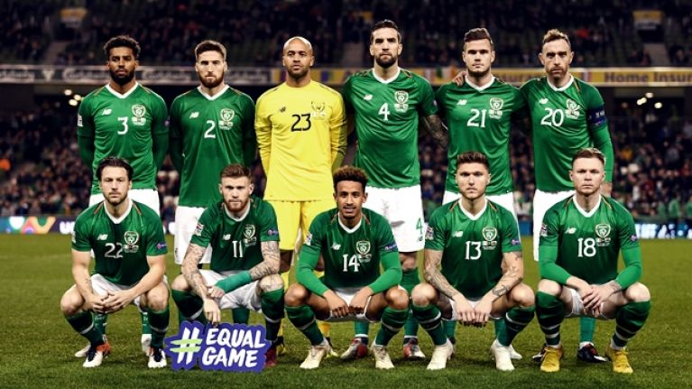 The Irish Soccer Team