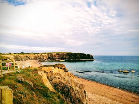 """Carnivan Beach, Co. Wexford, July 2019 By Emma Nangle. """"Find your own Happiness"""" Inspiration for this article is from this book: 'The Power' by Rhonda Byrne."""