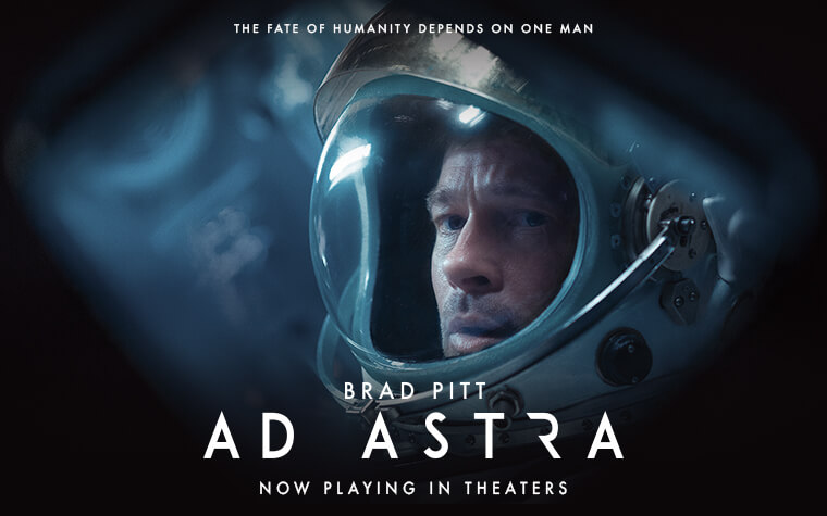 Ad Astra: The Martian, but terrible.