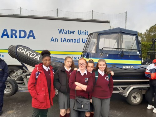 TY Trip to Garda Operations in Westmanstown