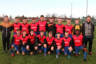 Collinstown U15s Crash Out of Cup