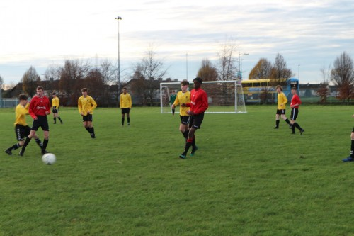 Mixed Fortunes for U17s Team