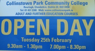 Further Education Open Day 25th February